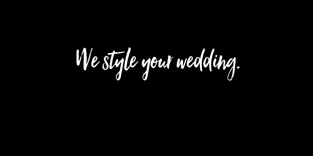 We style your wedding. Floral Designer In Connecticut